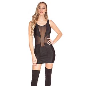 Disco Dress Black One Size