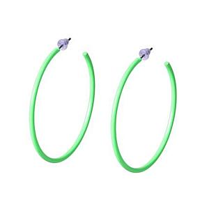 Neon Green Earrings