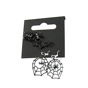 Spider, Bat & Web Earrings