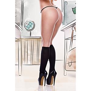 Black Knee High, Plus Size
