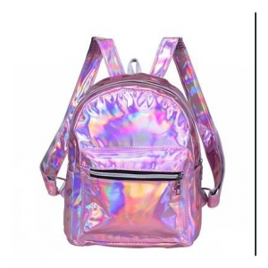 Pink back Pack Holographic