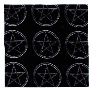 Pentagram Cotton Bandanas 53cm x 53cm