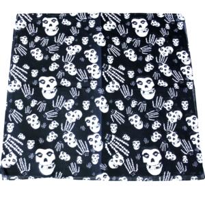 Skull & Skeleton Hands Cotton Bandanas 53cm x 53cm