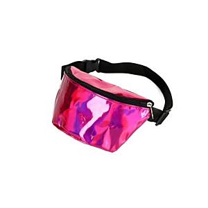 Pink hologram bumbag