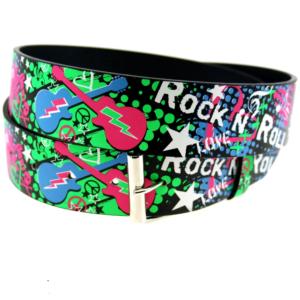 Printed Multicolour Rock N Roll Belt