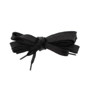 Pair of Black Glitter Shoelaces