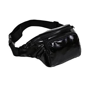 Plain Black Bum Bag