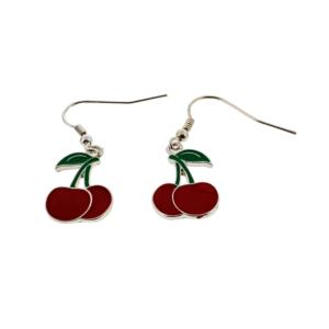 Cherry Earrings (2 x 1cm)