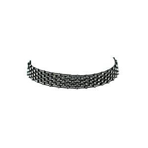 4 Layer Diamante Stone Mesh Cord Choker