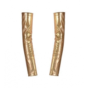 Gold Arm Warmers