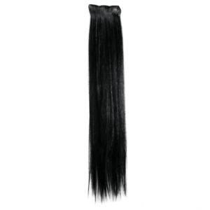 Aprox. 57cm Black Hair Highlights/ Extensions