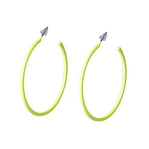 Neon Yellow Earring