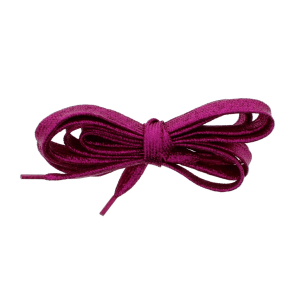 Pair of Fuchsia Pink Glitter Shoelaces