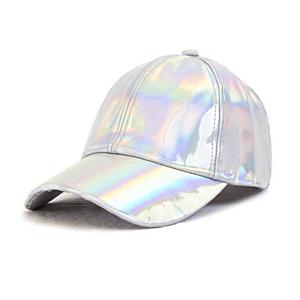 Holgraphic Baseball Cap Silver