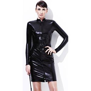 Fever Whiplash Pencil Dress - Black