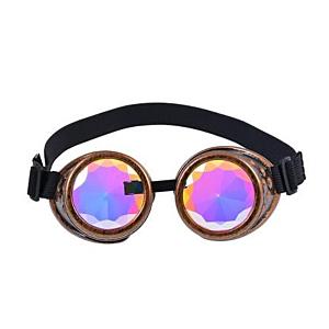 Antique Gold Kaleidoscope Goggles