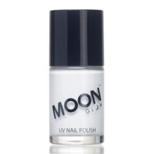 Intense Neon UV Nail Polish - White-M3065