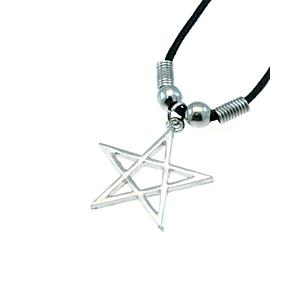 Pentagram Thong Necklace