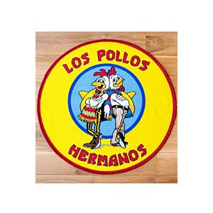 Breaking Bad Rug Los Pollos Hermanos 90 x 90 cm