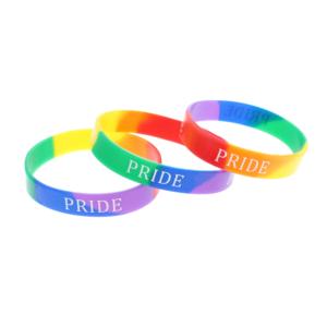 PRIDE Rainbow Silicon Bracelets