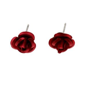 Red Rose Earrings (1 x 1cm)