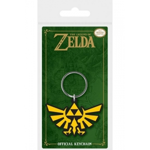 Legend of Zelda Rubber Keychain Triforce 6 cm