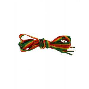 Pair of Rasta Shoelaces