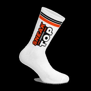 SNEAKFREAXX SOCKEN SNEAK TOP NEON -White One Size
