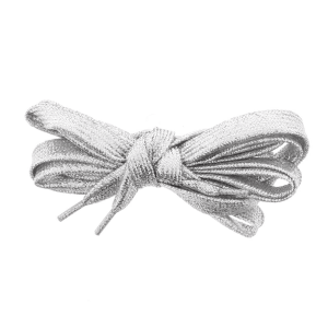 Pair of Silver Glitter Shoelaces