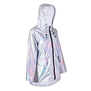 S/M Silver Raincoat