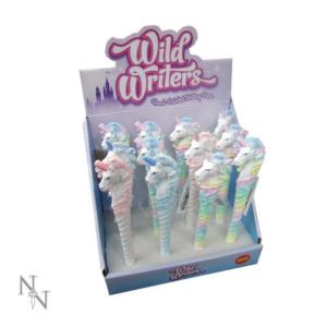 Wild Writers Unicorn Pens 16cm