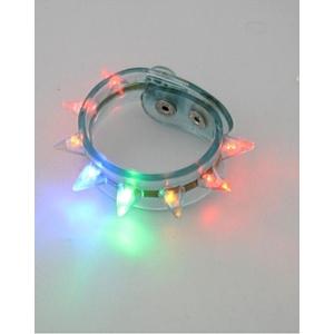 Light-up Spike Bracelets Assorted