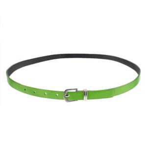 101.5 x 1.3cm Neon Green Glossy Rubber Belt