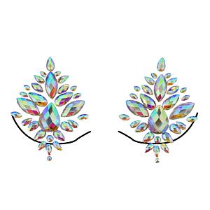 AB Crystal Boob Gems/ Jewels - Style B