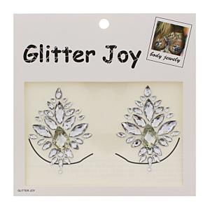Clear Crystal Boob Gems/ Jewels - Style B
