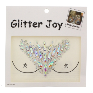 AB Crystal Boob Gems/ Jewels - Style F