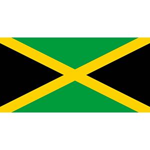 5 x 3 Feet Jamaica Flag & with Brass Eyelets