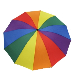 Red Polkadot Umbrellas